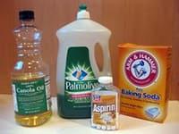 Сода и аспирин от мучнистой росы