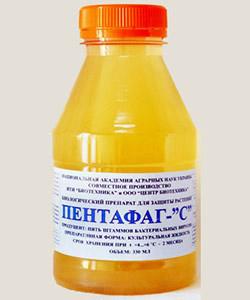Биопрепараты Пентафаг С