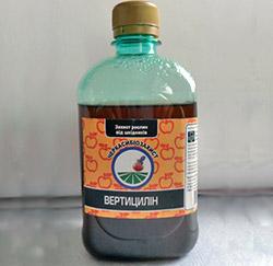 Биопрепараты: Вертициллин