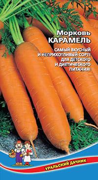 Самые сладкие сорта моркови: карамель
