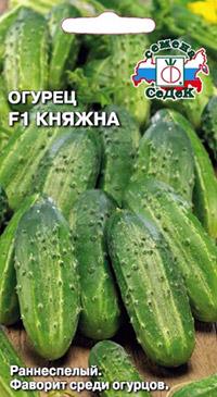 Устойчивые к болезням огурцы: Княжна