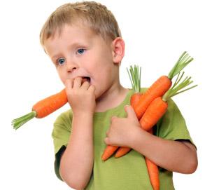сладкая морковь для детей