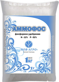 Фосфорное удобрение аммоний фосфорнокислый