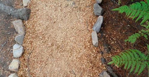 Где применять опилки в огороде