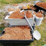 Использование опилок в огороде