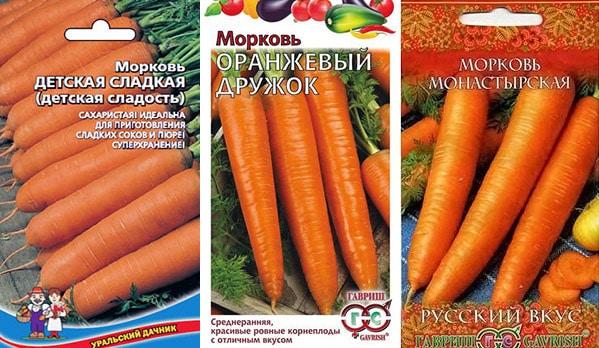 Самая сладкая морковь