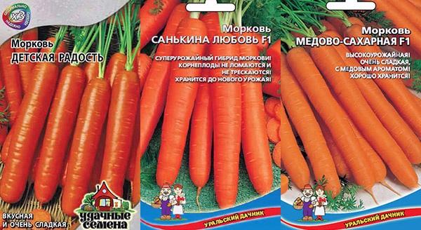 Морковь с большим содержанием сахара