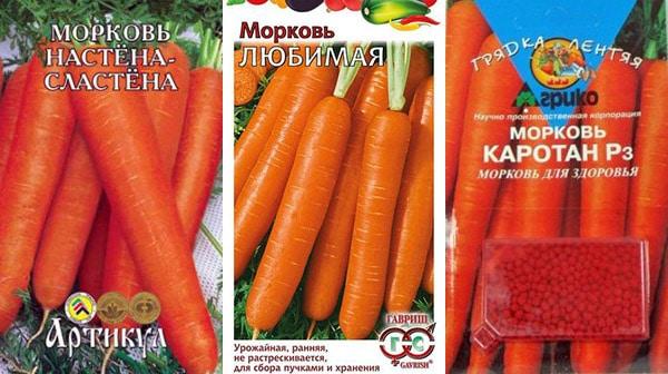 Морковь для детского питания