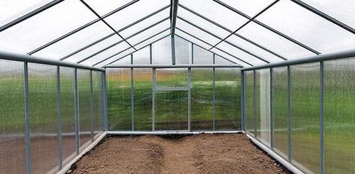 Как подготовить почву в теплице осенью
